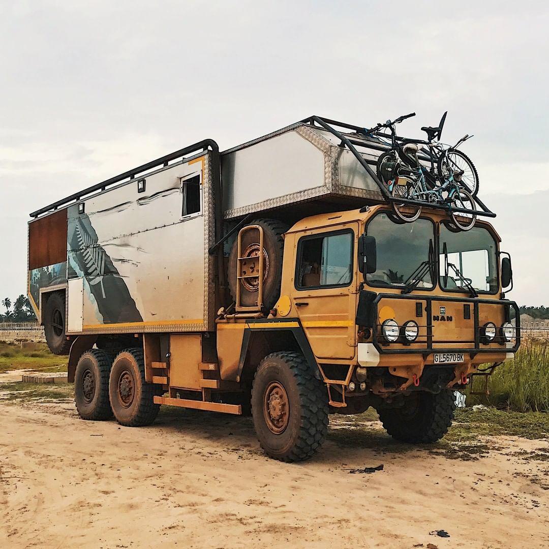 Amazing unique MAN KAT10 10X10 Camper ~.~  Expedition truck