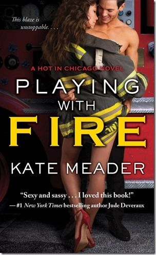New Release: Playing With Fire (Hot in Chicago #2) by Kate Meader + Teaser and Giveaway Info