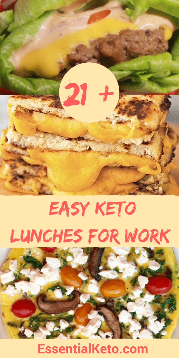 21 Easy Keto Lunches For Work Prep Tips And Recipes That Won T