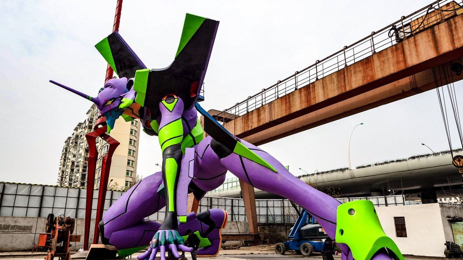 The Tallest Evangelion Statue In The World (With images