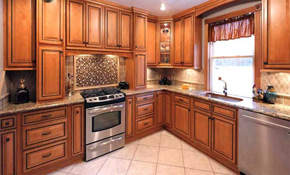 The beauty of our Glazed Rope Kitchen Cabinets is in ...