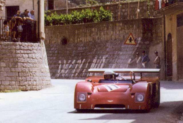 Gimax in a Chevron Targa Florio 1975