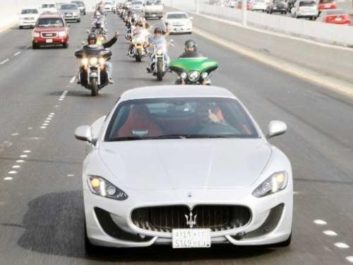 Maserati Supports Harley Davidson Jeddah Chapter For Safe Driving Jeddah Maserati Harley Davidson