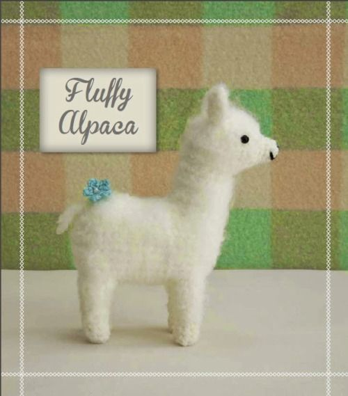Free Crochet Pattern Fluffy Alpaca From Craftside Crocheted