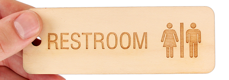buy best quality unisex bathroom keychain online only from mydoorsigncom affordable and durable