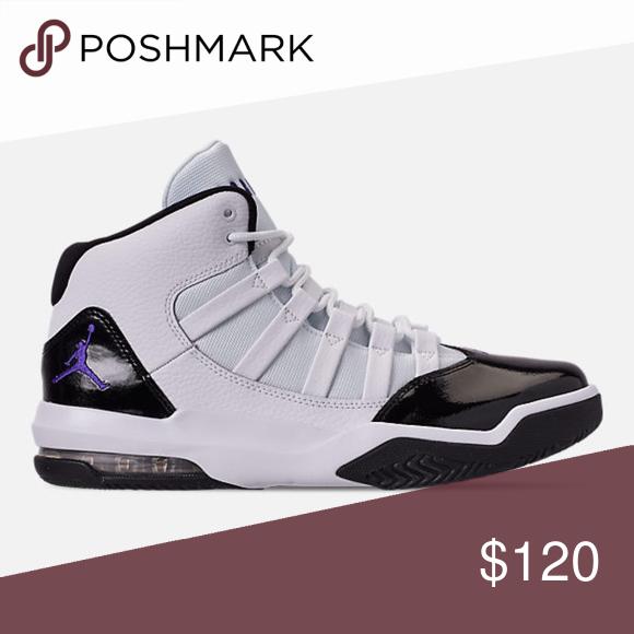 Jordan max aura white/black AQ9084-121