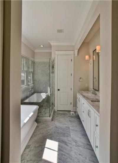 Long Skinny Bathroom With Images Master Bathroom Layout