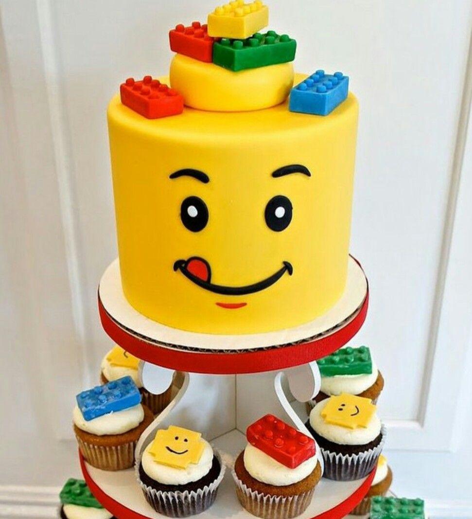 Pastel lego pasteles infantiles pinterest pasteles - Bizcochos cumpleanos infantiles ...