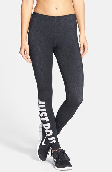 Nike  Leg-A-See - Just Do It  Tights available at  Nordstrom  1ba7e7de3