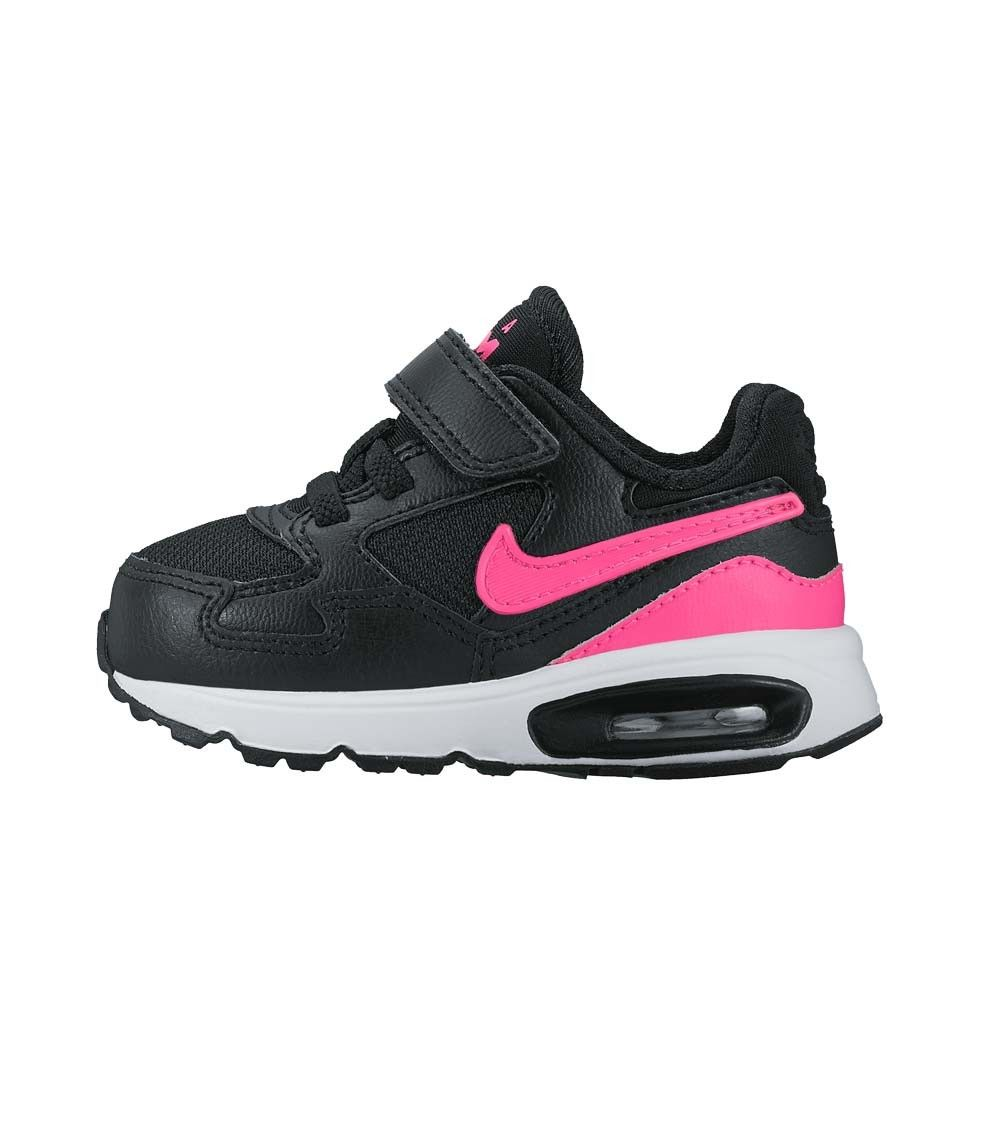 80f08e35870 Nike Air Max ST TDV Toddler Black Pink