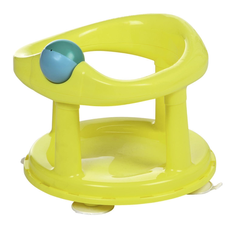 New! Swivel baby bath seat in lime. Baby bath, Baby bath