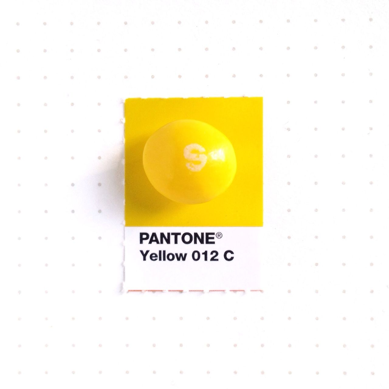 Pantone yellow 012 color match yellow skittle to - Colors that match with yellow ...