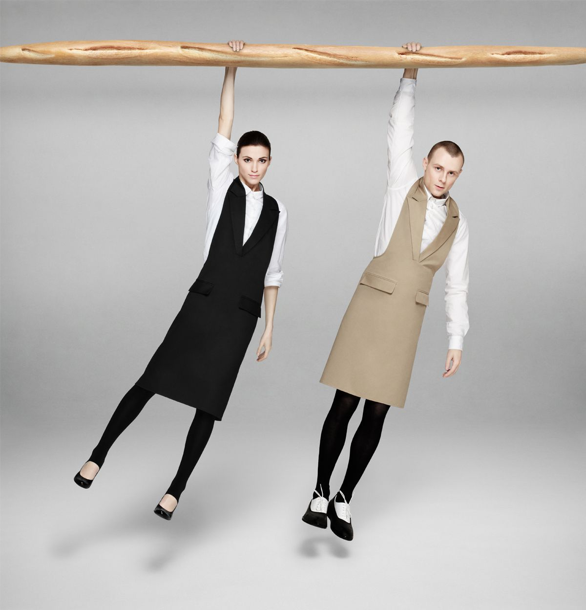Designer Kitchen Aprons unisex formal collar apronaiste nesterovaite. | just a bit of