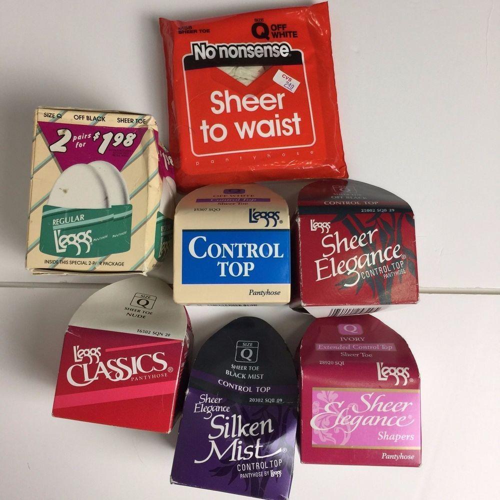 Leggs pantyhose packaging