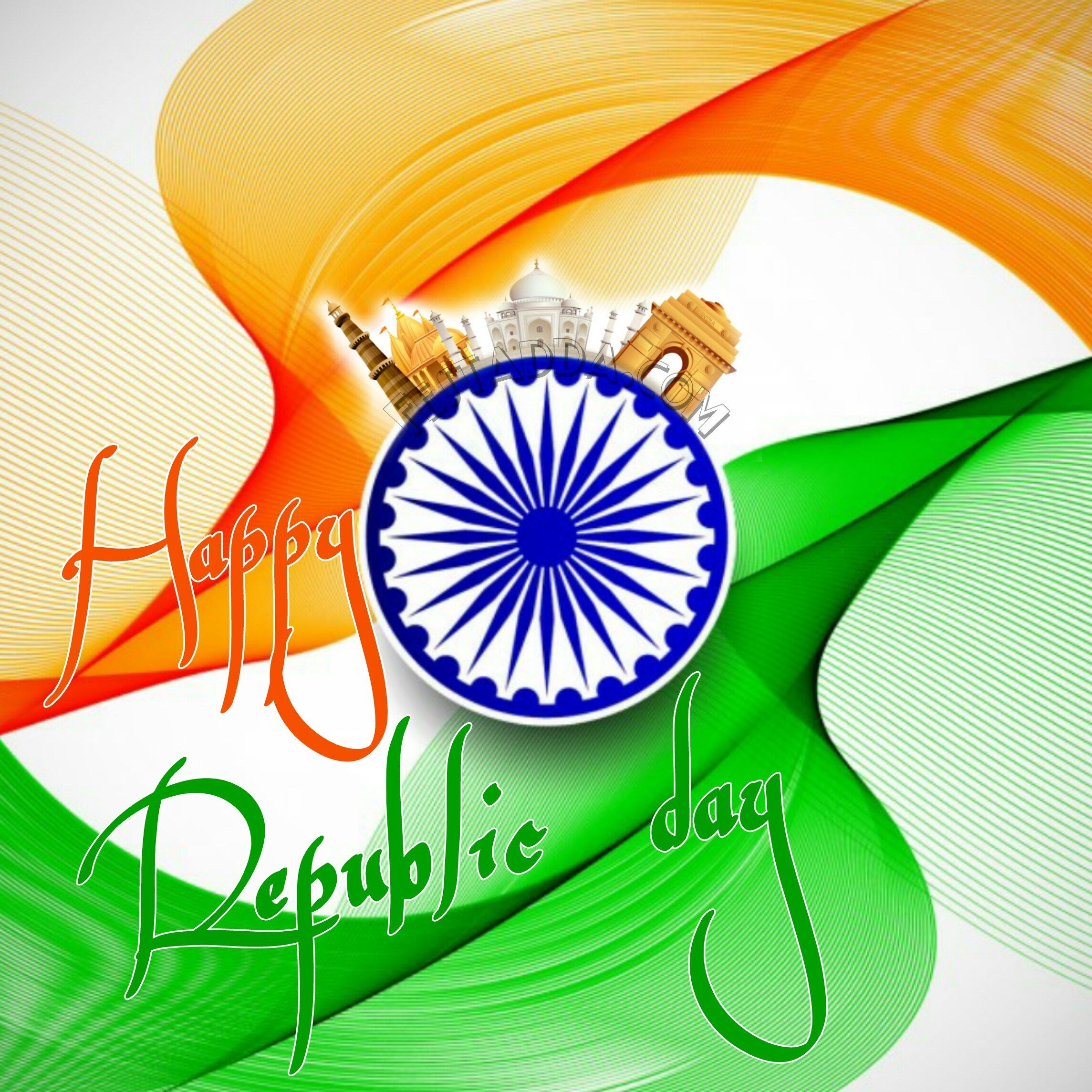 Happy Republic Day 2020 Quotes Gif Files Pics For Whatsapp Status Full Hd Republic Day Indian Flag Wallpaper Independence Day Wallpaper