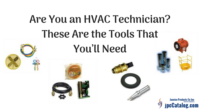 Are You an HVAC Technician? These Are the Tools That You