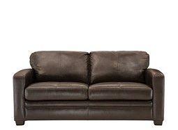 Trent Leather Full Sleeper Sofa Small Sleeper Sofa Full
