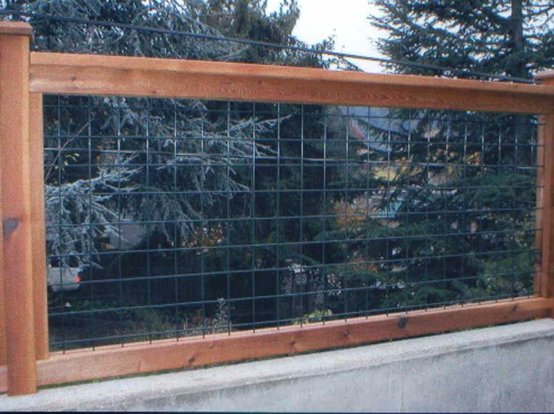 pole fence ideas 4x4 wire grid fence powder coated fences
