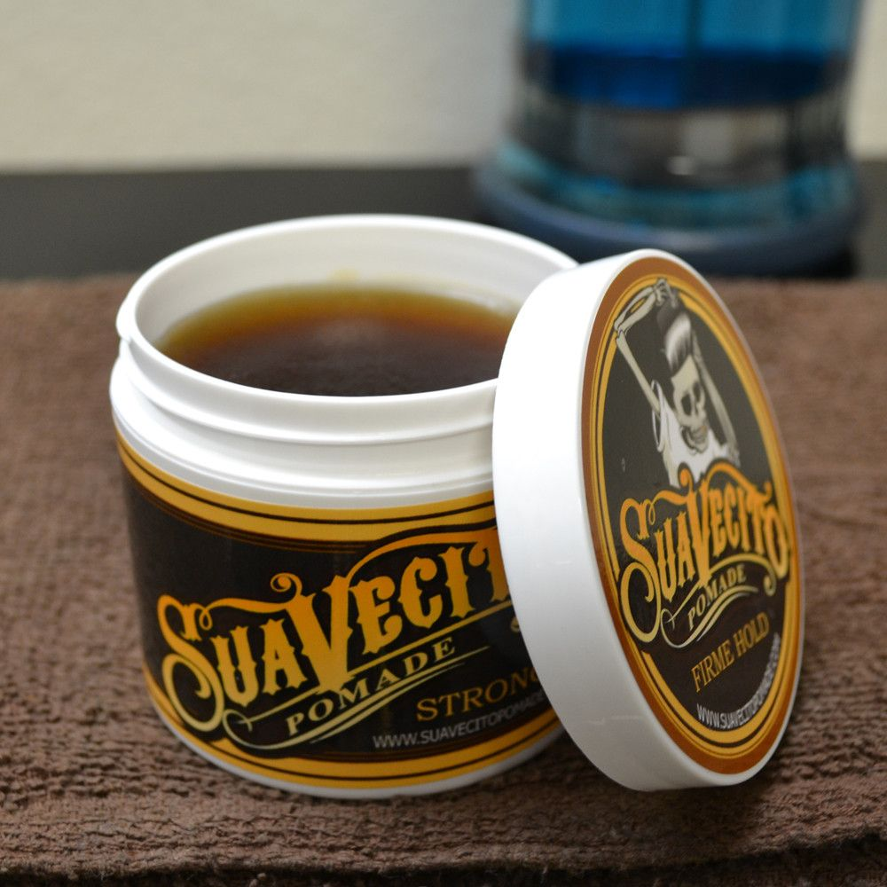 Suavecito Pomade Firme Strong Hold Pomade Water Based Pomade Water Based Pomade Pomade Diy Hair Pomade