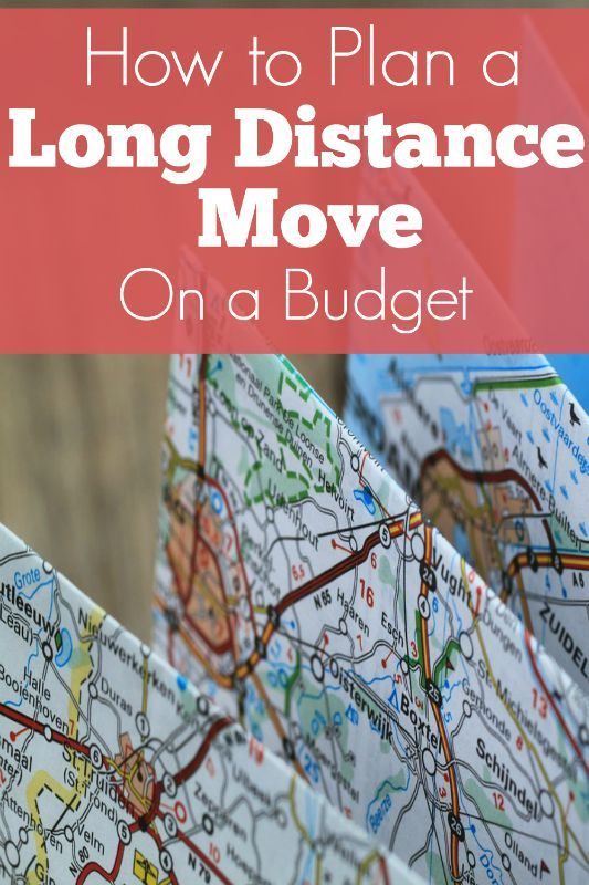 How To Move Across The Country On A Budget Budgeting Big move and