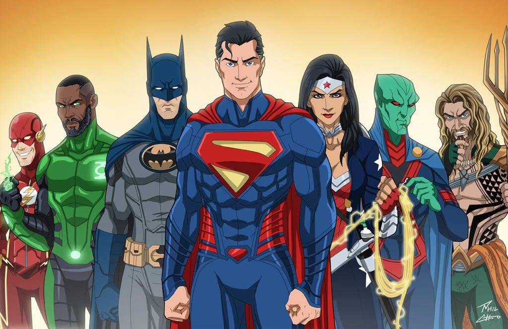 The Justice League Earth 27 By Phil Cho Dc Comics Superheroes Justice League Dc Comics Characters