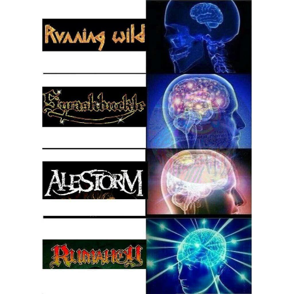 Another pirate metal meme  #alestorm #rumahoy #runningwild