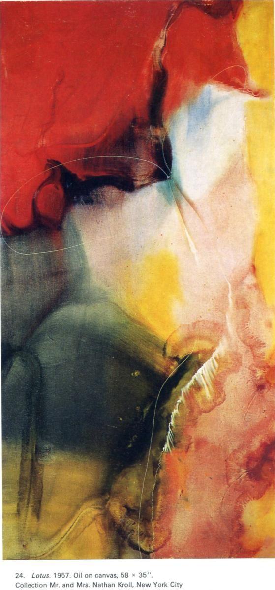 Lotus, 1957  Paul Jenkins