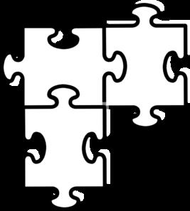 Puzzle Pieces Connected Clip Art Vector Clip Art Online Royalty Free Public Domain Puzzle Piece Template Puzzle Piece Art Clip Art