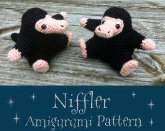 Crochet Pattern: Niffler Amigurumi PDF Instant Download