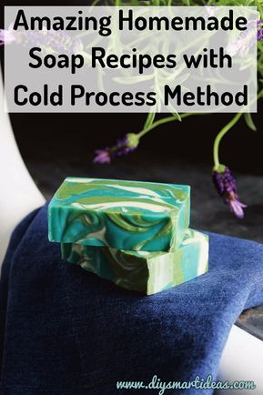 You will never regret to learn how to make cold process soap, click the title/image to check out the recipes and instructions #homemadesoap #diysoap #naturalsoap