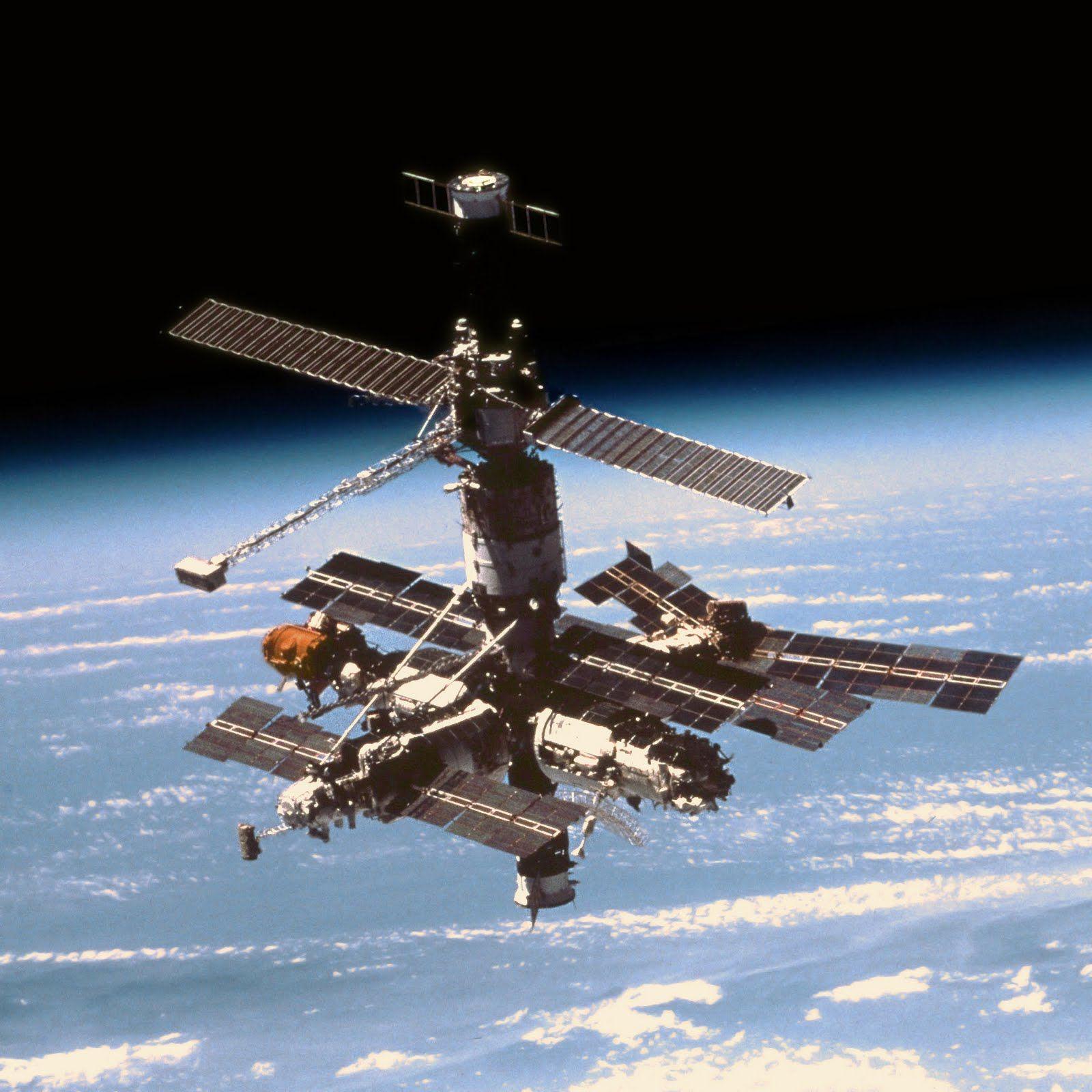 Mir Space Station Nasa Space Program Spacecraft