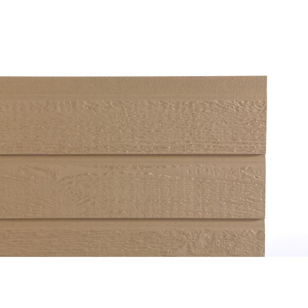 Tru Wood 16 Ft X 1 Ft 4 In X 1 2 In Old Mill Cottage Style 5 In Hardboard Lap Primed Siding 30195 The Home Depot Lap Siding Cottage Style Siding