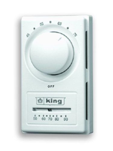 King Het 2r Double Pole European Style Anticipated Thermostat