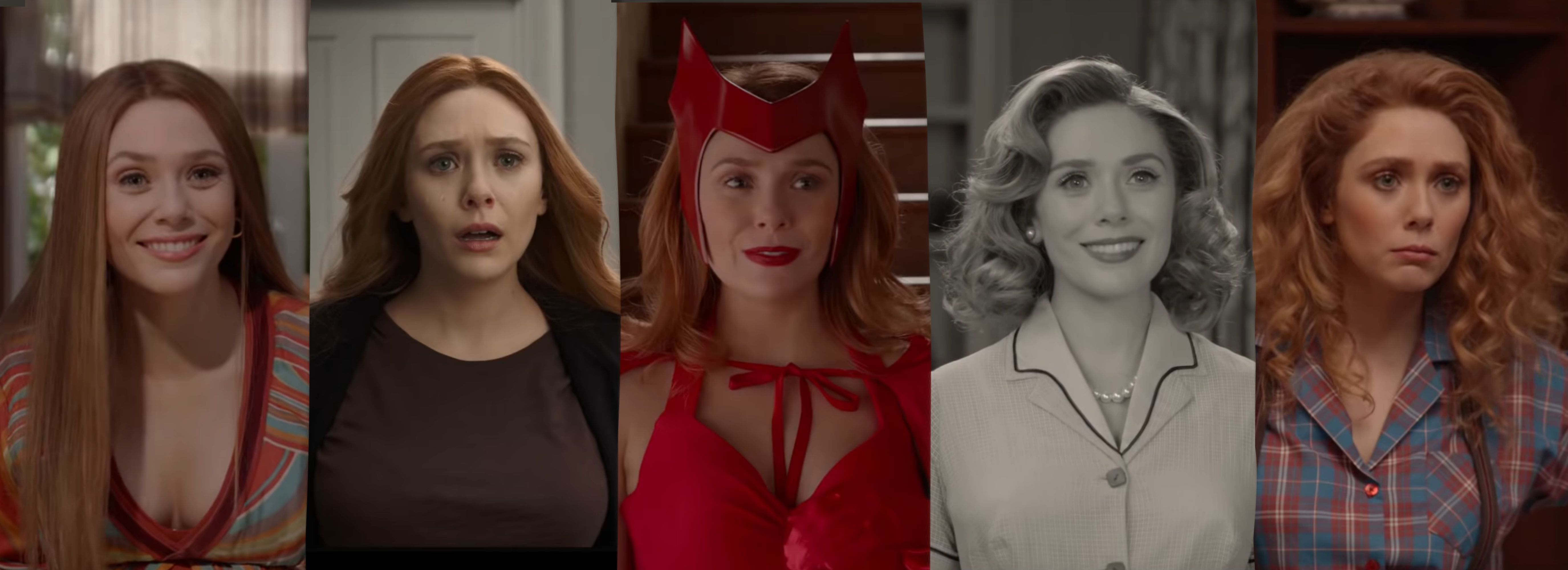 Scarlet Witch in WandaVision em 2020