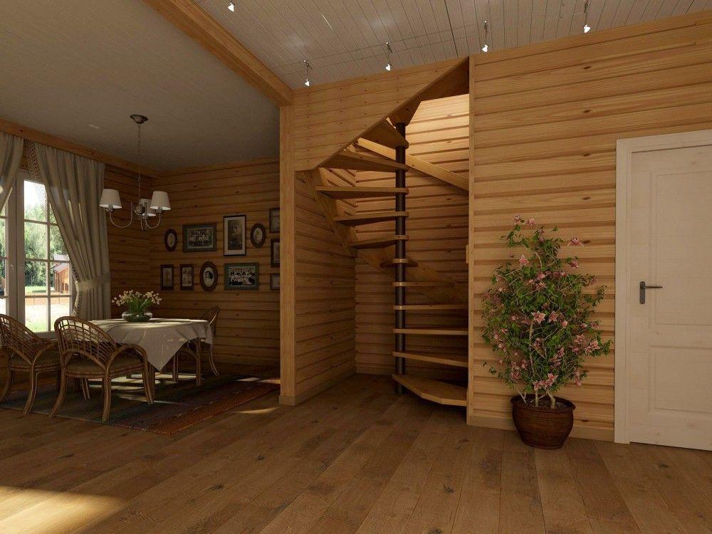 Отделка деревянного дома внутри фото второй этаж фильмах елена