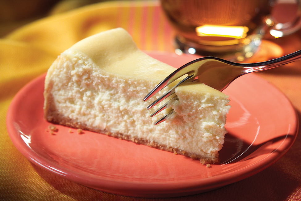 Eggnog Cheesecake - My Food and Family #eggnogcheesecake