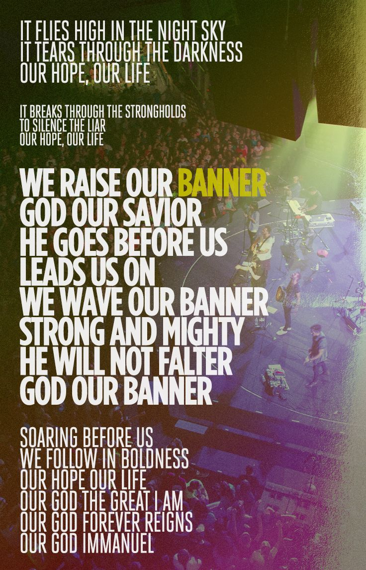 "Lyrics from Desperation Band's song ""Banner"""