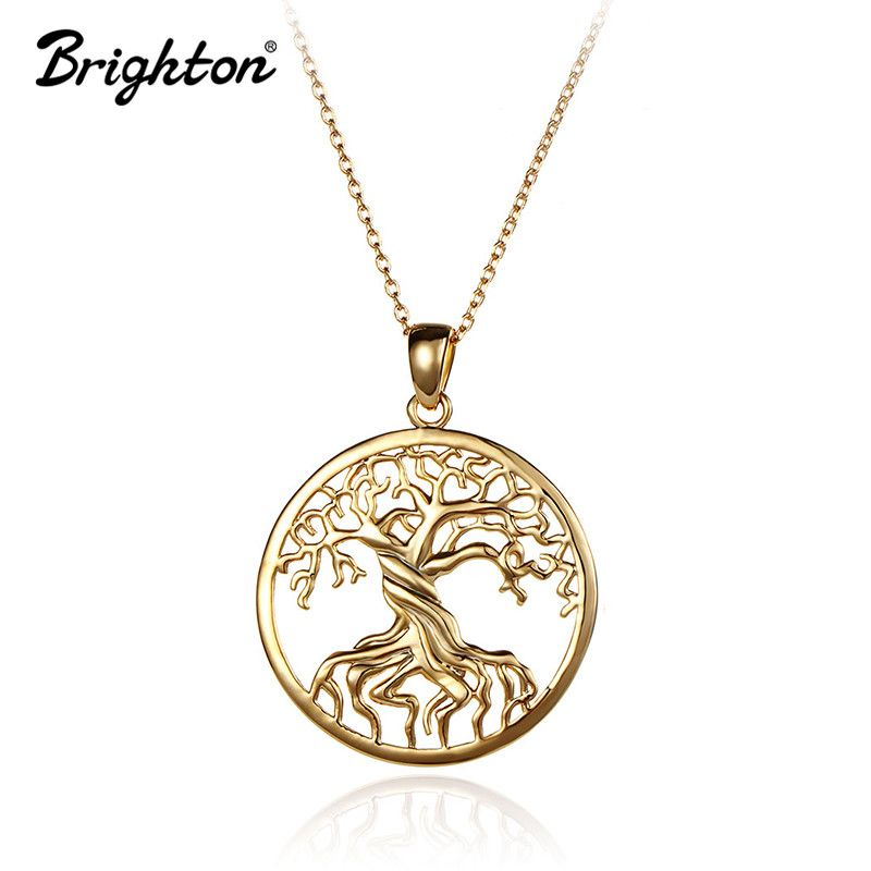 Brighton wholesale goldplatinum plated life tree pendant necklace brighton wholesale goldplatinum plated life tree pendant necklace for women long chain piece tree aloadofball Choice Image