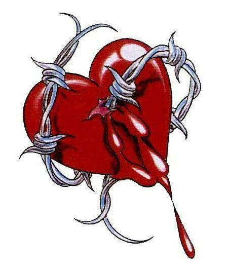Сердце в шипах картинки