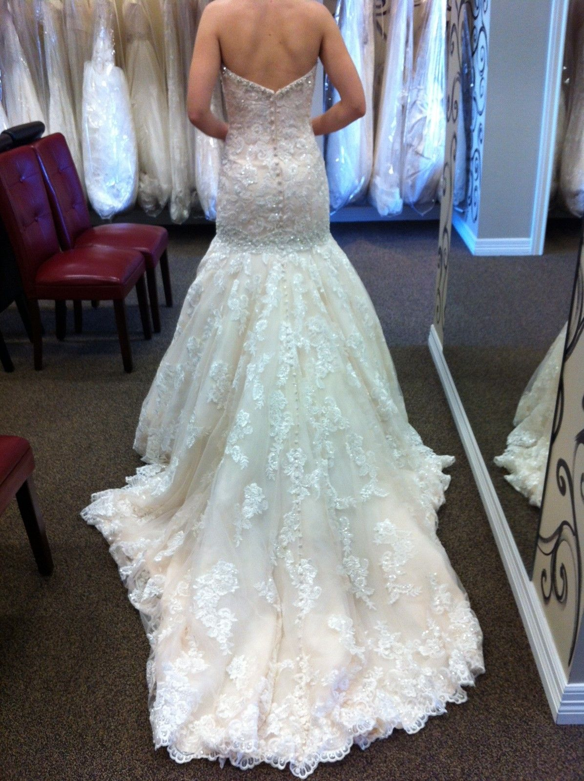Share your Allure dress! « Weddingbee Boards | My dream wedding ...