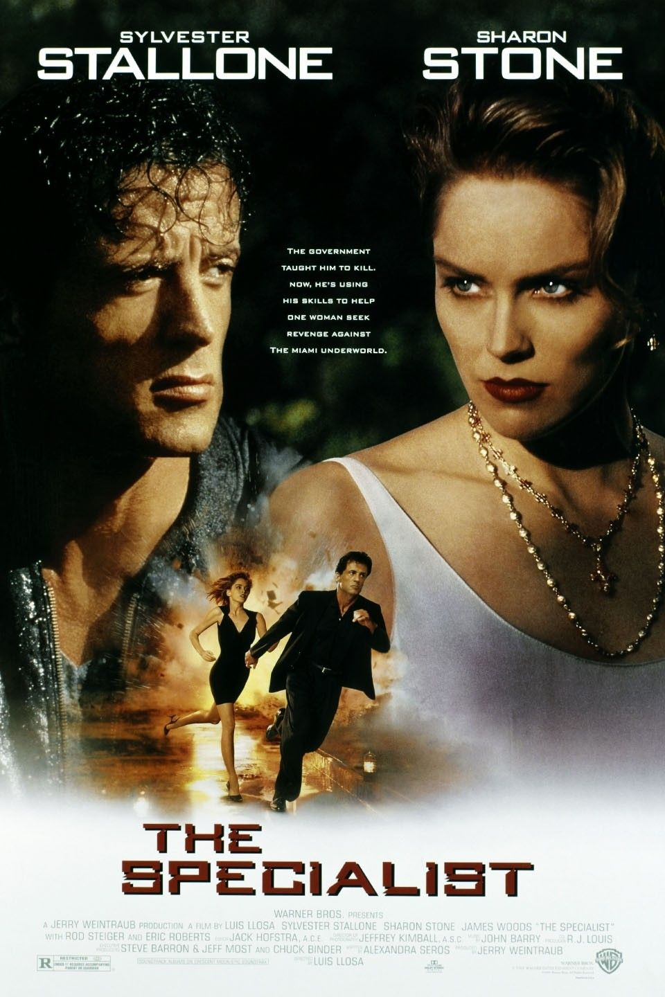 The Specialist 1994 Free Movies Online Stallone Movies Movie Posters