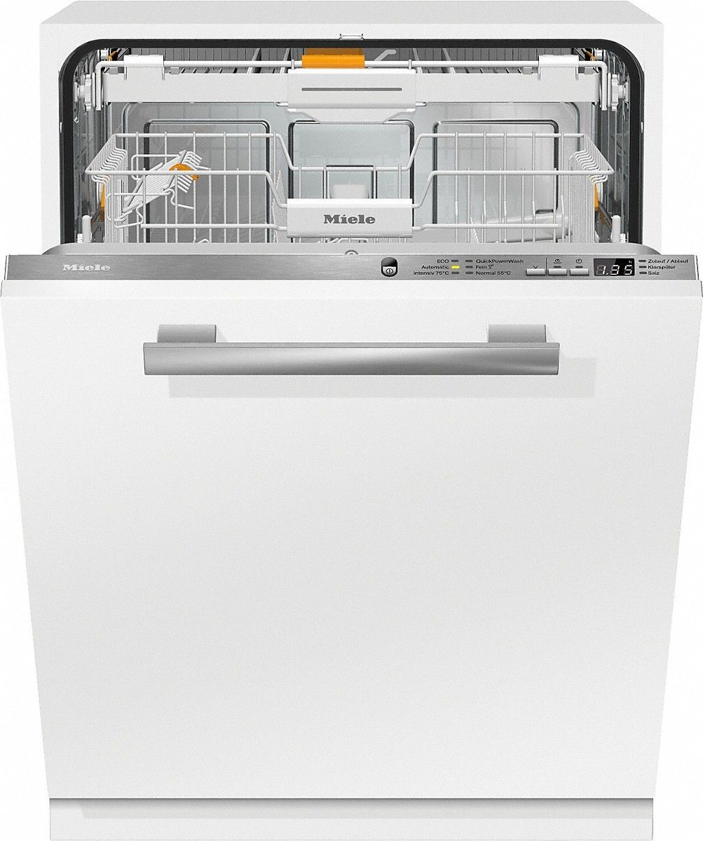 Miele G 6660 Scvi Fully Built In 14place Settings A Dishwasher 1 300 00 Semi Fu Integrated Dishwasher Fully Integrated Dishwasher Built In Dishwasher