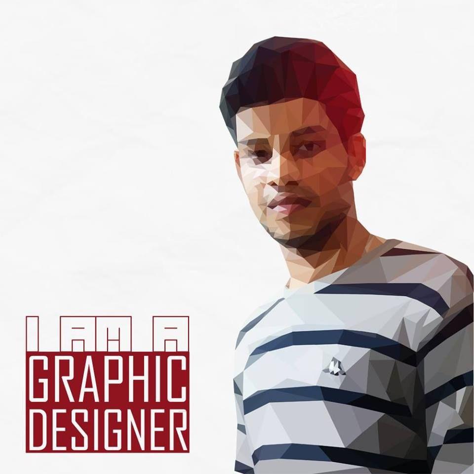 """Polygon Design - """"I AM A GRAPHIC DESIGNER"""""""