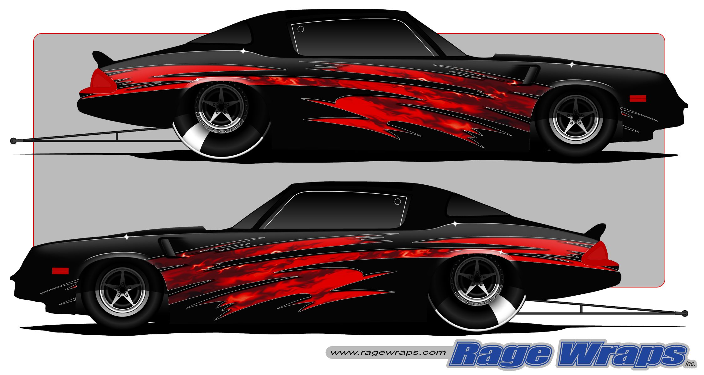 Vinyl car wrap designs