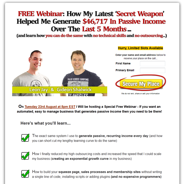 Squeeze page examples | Blogging | Squeeze page, Writing