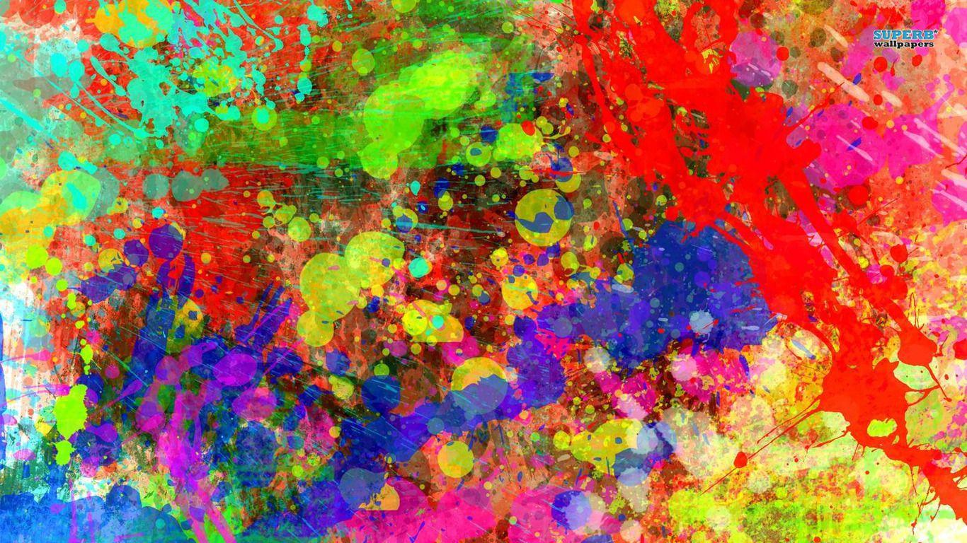 Colorful Paint Splatters | Colourful paint | Pinterest ...