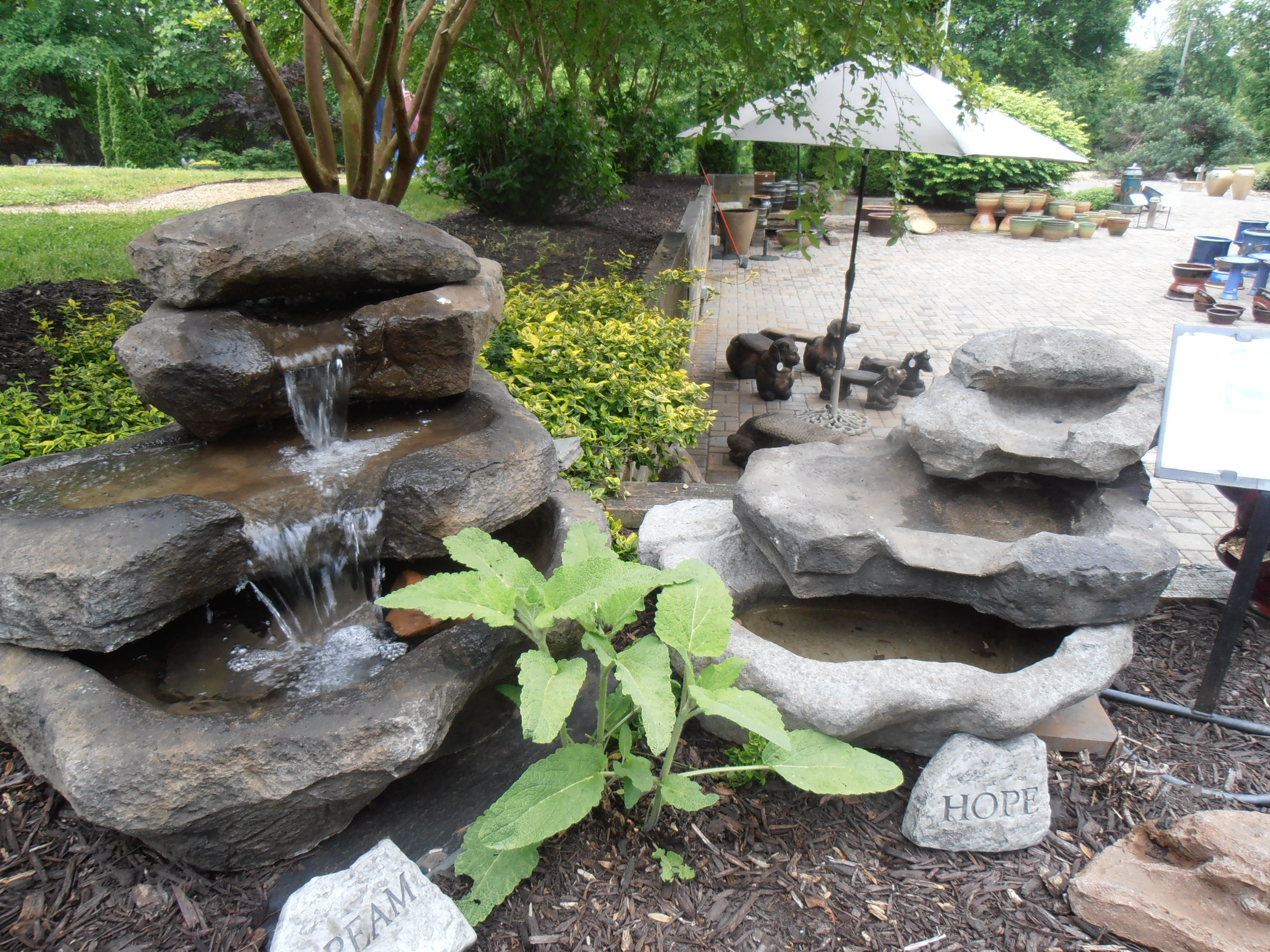Stacked Rock Falls Available In Two Sizes Great For 640 x 480