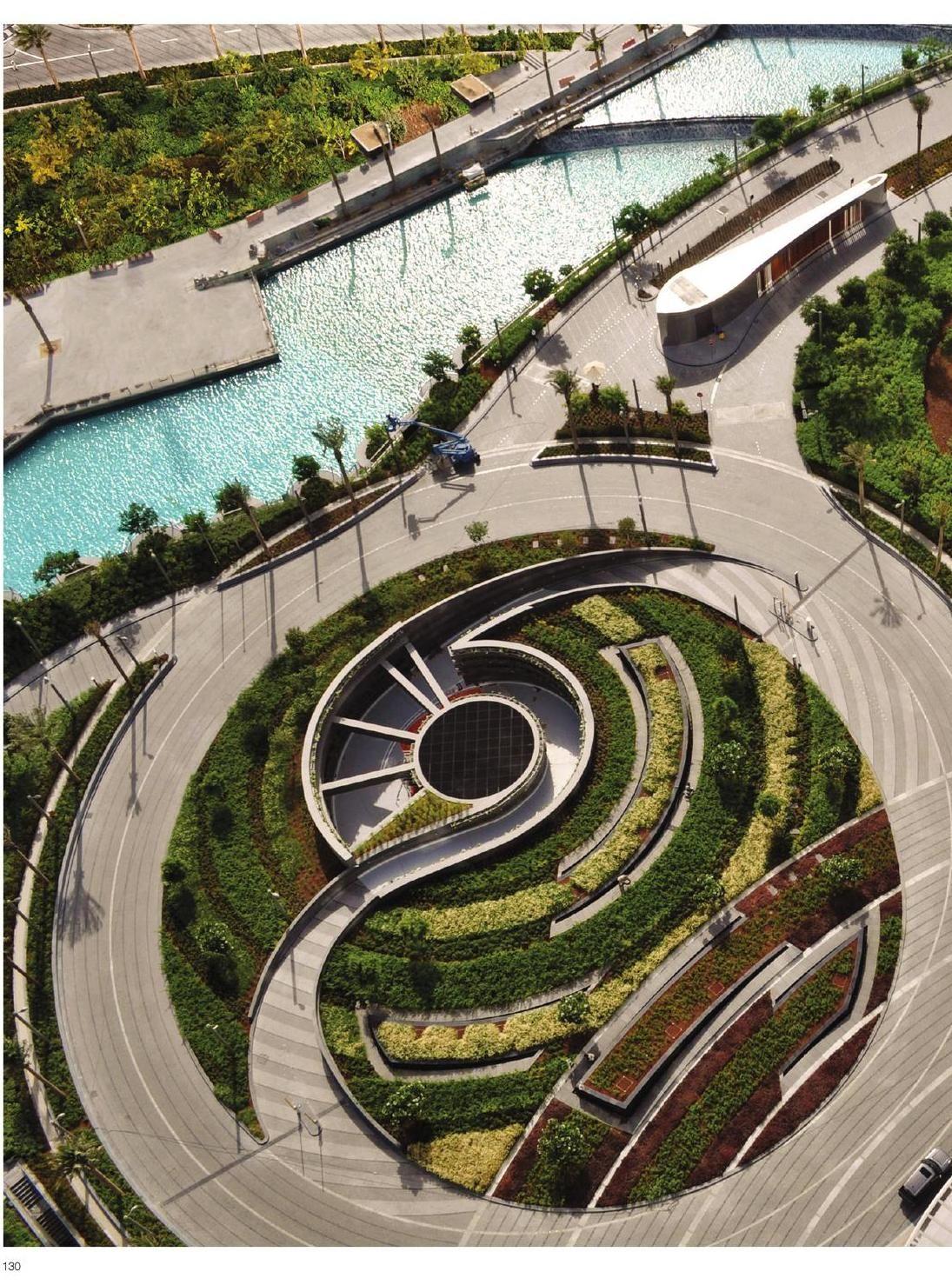 Corporate Commercial Landscape Arquitectura De Paisaje Planos De Paisajes Modelo De Paisaje