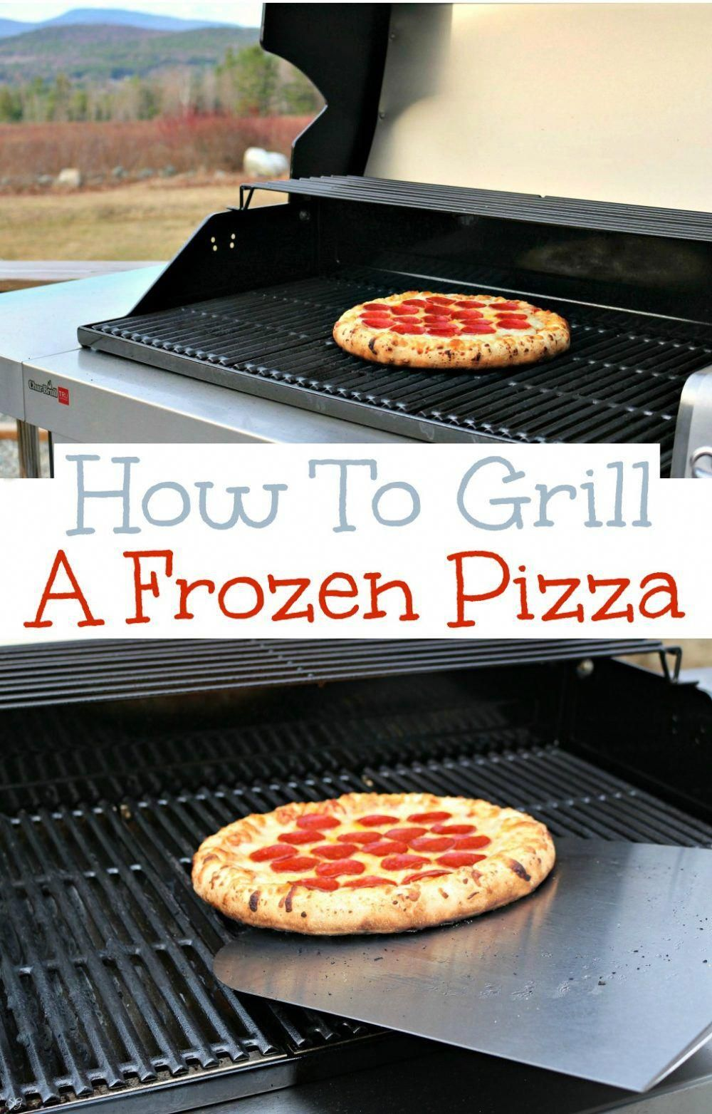 How to Grill Pizza   Recipe   Grilled pizza, Recipes, Food