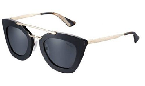New Prada PR 09Q 1AB/0A7 Black Frame With Light Grey Shaded Lens Men ...